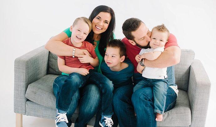 Q Family   Salt Lake City Studio Family Photography