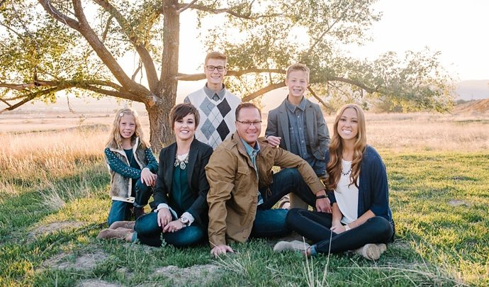 P Family | Highland Utah Family Photographer