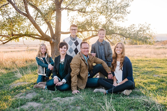 P Family | Highland Utah Family Photographer