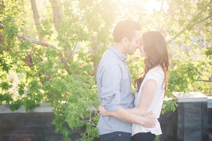 Emerson & Allison | SLC Studio Engagement Photography