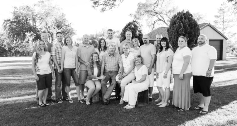 C Family | Best Utah Extended Family Photographer