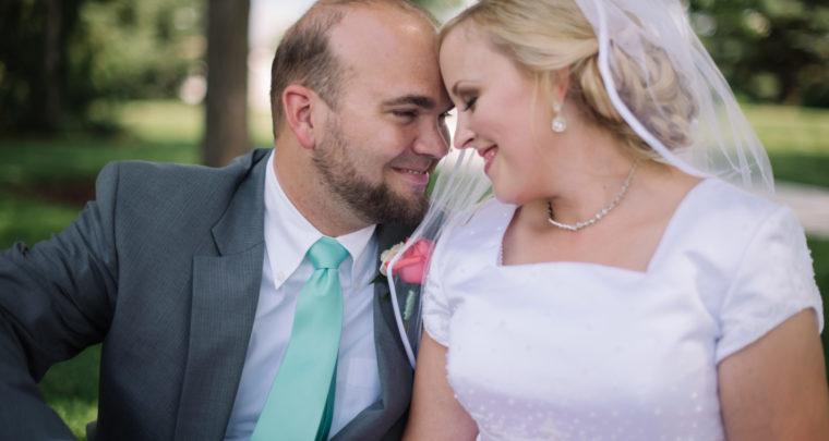 Brian & Courtney's Wedding Day | Mount Timpanogos Temple Wedding Photographer