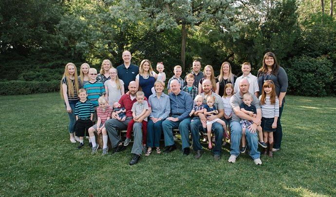 Extended Family Session in Utah
