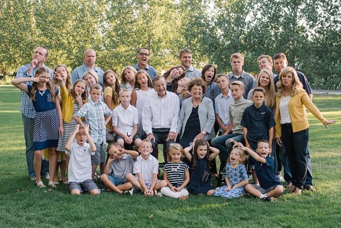 Darling Extended Family | Draper Utah Extended Family Photographer