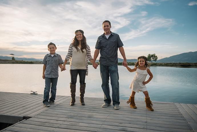 N Family | Utah Lake Family Photographer