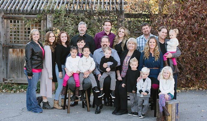 B Family | Utah Extended Family Photographer