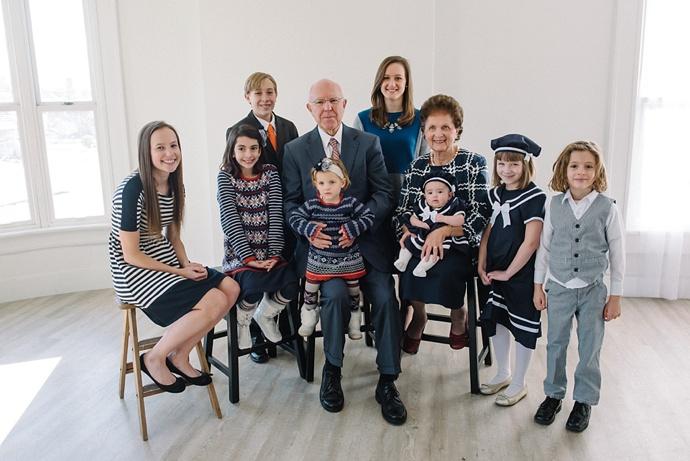 Utah Salt Lake Extended Family Studio Photographer 002