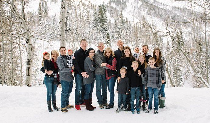 M Family | Utah Extended Family Photographer