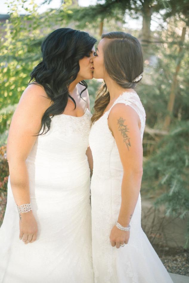 Legends Motorcycles Lesbian Wedding 12