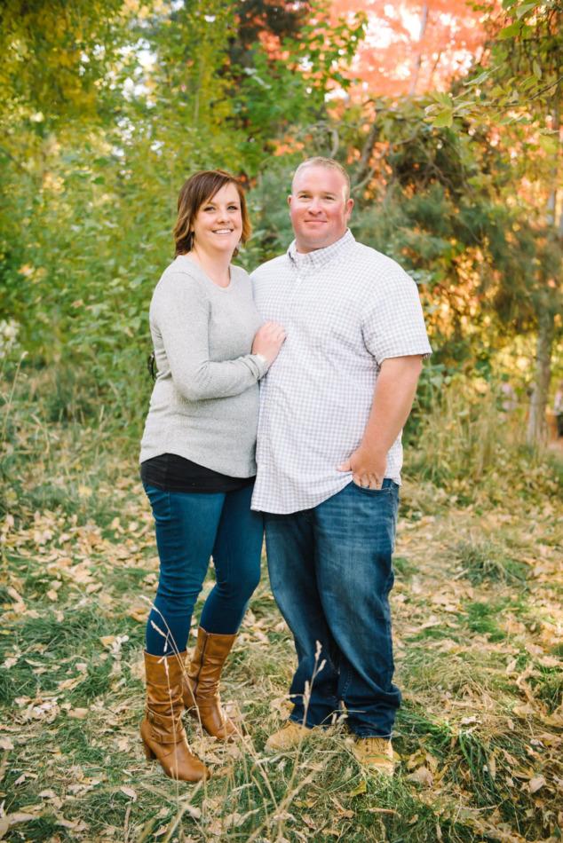 Utah in the Fall Extended Family 04