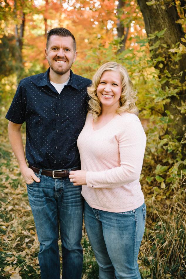 Utah in the Fall Extended Family 22