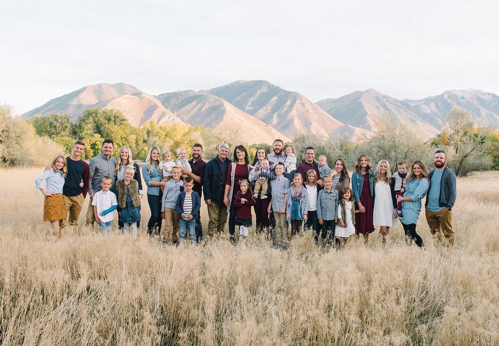 Utah Extended Family 01